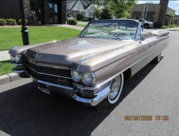 1963 Cadillac 62 1963 Prix tout compris