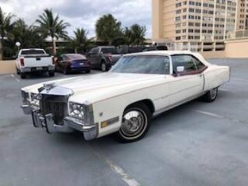 1972 Cadillac Eldorado 1972 Prix tout compris