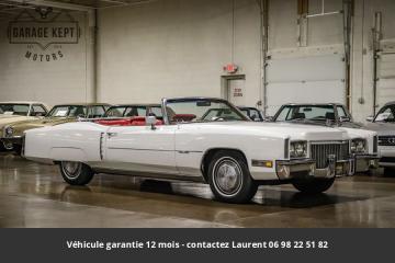 1972 Cadillac Eldorado 500ci V8 1972 Prix tout compris