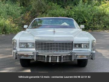 1975 Cadillac Eldorado V8 1975 Prix tout compris hors homologation 4500 €