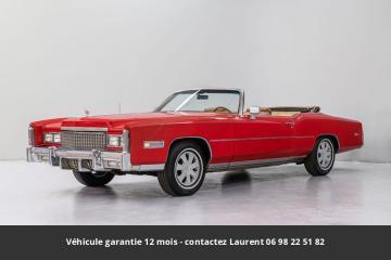 1975 Cadillac Eldorado V8 1975 Prix tout compris