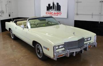 1976 Cadillac Eldorado 500ci V8 1976 Prix tout compris