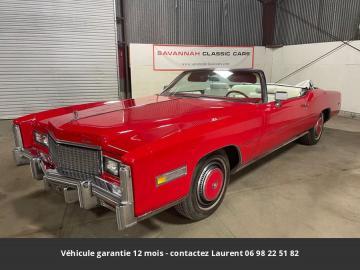 1976 Cadillac Eldorado 1976 Prix tout compris