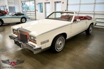 1984 Cadillac Eldorado Biarritz Cabriolet 1984 Prix tout compris
