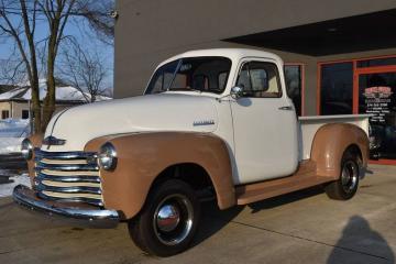 1952 Chevrolet 3100 5 window  1952 Prix tout compris