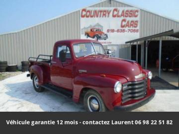 1952 Chevrolet 3100 1952 Prix tout compris