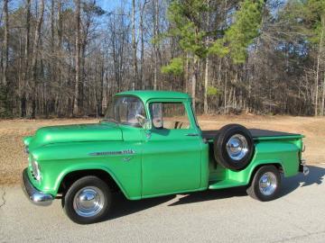 1956 Chevrolet 3100 Big Back Window 350 V8 1956 Prix tout compris