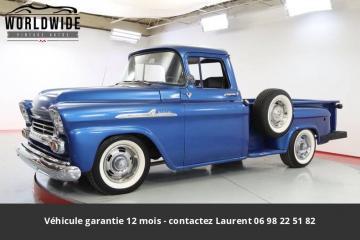 1958 Chevrolet Apache 1958 454 Big Block V8. Prix tout compris