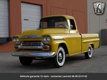 1959 Chevrolet Apache V8 350 3-speed automatic Turbo 350  1959 Prix tout compris