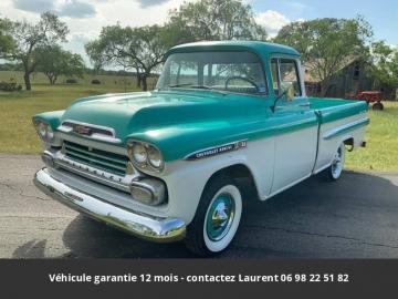 1959 Chevrolet Apache Big Window Fleetside Short Wheel Base 1959 Prix tout compris