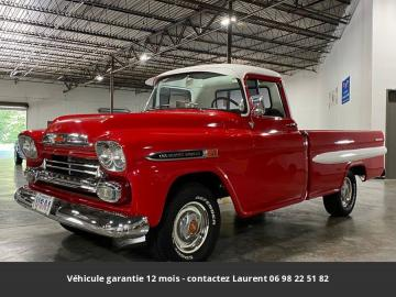 1959 Chevrolet Apache Fleetside 1959 Prix tout compris