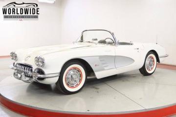 1959 Chevrolet Corvette 283 V8 1959 Prix tout compris