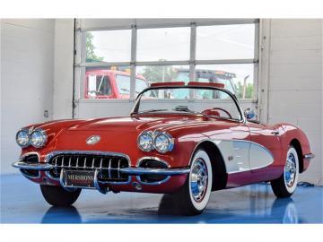 1960 Chevrolet Corvette C1 Roman Red 1960 exceptionnelle Prix tout compris