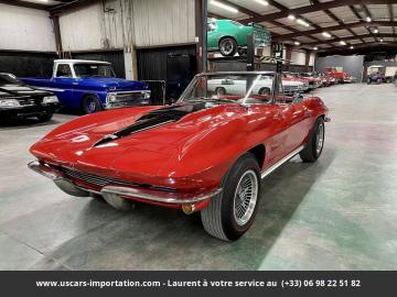 1964 Chevrolet Corvette 327ci V8 1964 Prix tout compris