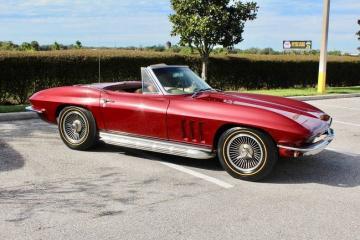 1965 Chevrolet Corvette  Prix tout co327-350hp engine with M20 4 speed transmissionm 1965 pris