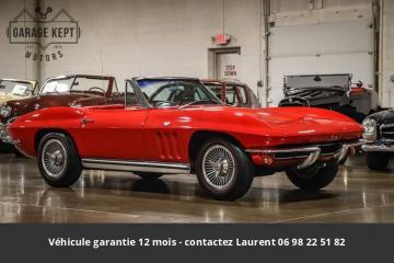 1965 Chevrolet Corvette 327 V8 side pipe 1965 Prix tout compris