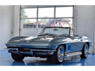 1967 Chevrolet Corvette C2 décapotable Elkhart Blue 1967 Prix tout compris
