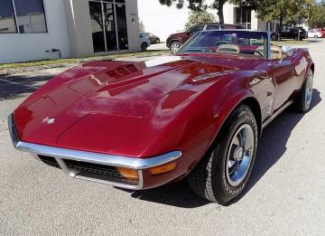1972 Chevrolet Corvette V8 350 1972 Prix tout compris