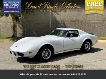 1976 chevrolet corvette V8 1976 Prix tout compris