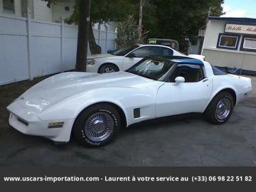 1981 chevrolet corvette 1ére main V_ 1981 Prix tout compris