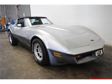 1982 Chevrolet Corvette C3 Silver 1982 Prix tout compris