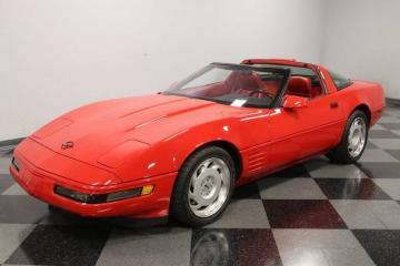 1991 Chevrolet Corvette ZR-1 km Réel 1991 Prix tout compris