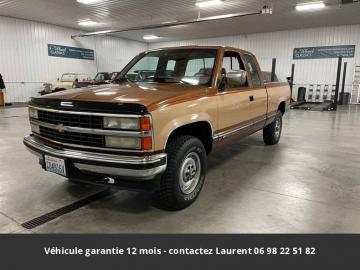 1990 Chevrolet Silverado 5.7L 4X4 V8 injection 1990 Prix tout compris
