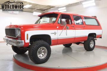 1976 Chevrolet Suburban V8 350 1976 Prix tout compris
