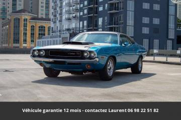 1970 Dodge Challenger R/T 383 426 color combo Bright Blue Metallic (EB5) 1970 Hemi V8 Prix tout compris