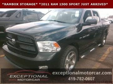 2011 Dodge RAM Sport 4X4 2011 Prix tout compris Hors homologation 4500€
