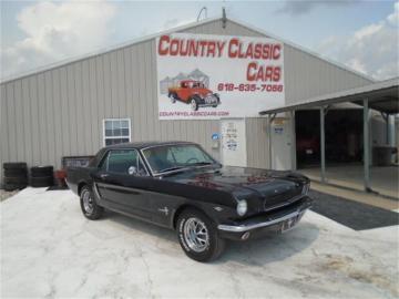 1965 Ford Mustang V8 289 D Code Prix tout compris