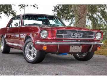 1965 Ford Mustang V8 1965 Restaurée Prix tout compris