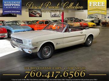 1965 Ford Mustang V8 289 1965Prix tout compris