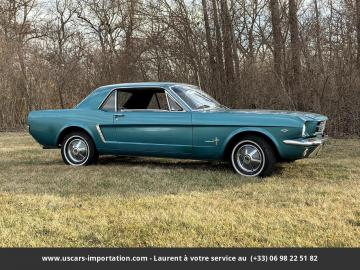 1965 Ford Mustang V8 289 Code C 1965 Prix tout compris