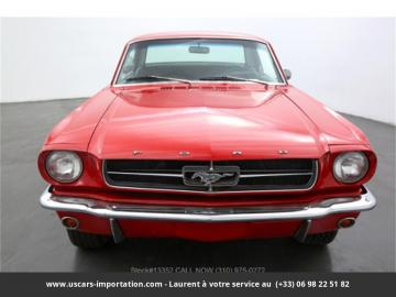 1965 Ford Mustang 289 V8 Poppy Red 1965 Prix tout compris