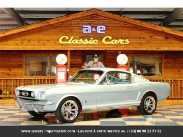 1965 Ford Mustang GT Fastback V8 1965 Prix tout compris