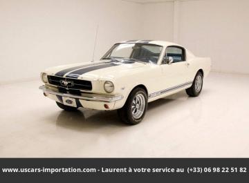 1965 Ford Mustang Fastback 289 V8 1965 Prix tout compris