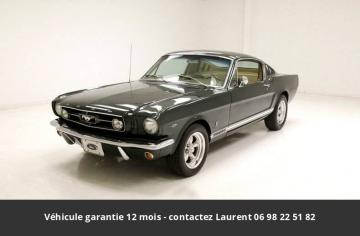 1965 Ford Mustang Fastback  Code A-289ci V8 4bbl 225hp 1965 Prix tout compris