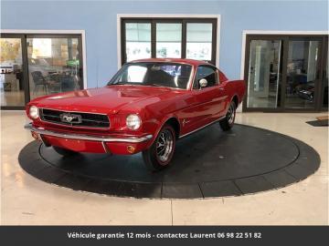 1965 Ford Mustang Fastback V8 289 1965 Prix tout compris hors homologation 4500 €