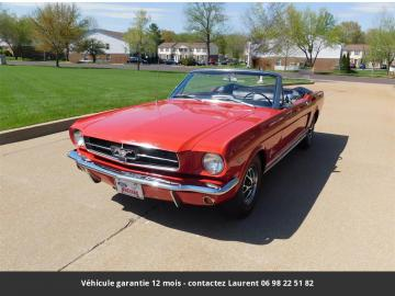 1965 Ford Mustang V8 Code A 1965 Prix tout compris