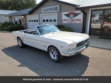 1965 Ford Mustang V8 Cabriolet 1965 Prix tout compris