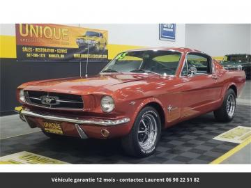 1965 Ford Mustang Fastback A Code 289 4bbl V8 1965 Prix tout compris