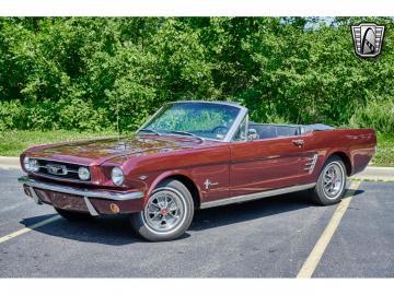 1966 Ford Mustang Cabriolet 1966 V8 code C Prix tout compris