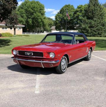 1966 Ford Mustang V8 289 1966 Prix tout compris