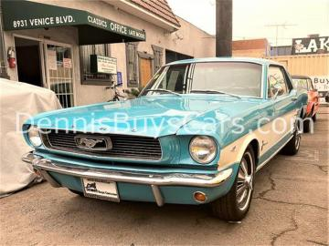 1966 Ford Mustang Expertise disponible V8 289 1966 Prix tout compris