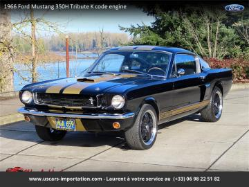 1966 Ford Mustang Fastback Shelby GT350 Hertz Tribute 1966 Prix tout compris