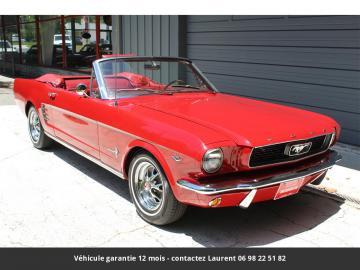 1966 Ford Mustang 289 V8 1966 Prix tout compris