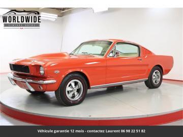 1966 Ford Mustang Fastback V8 1966 Prix tout compris