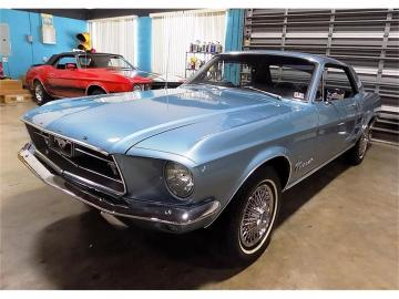 1967 Ford Mustang V8 289 1967 Prix tout compris