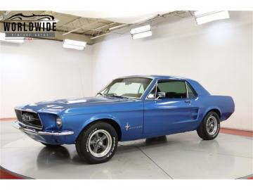 1967 Ford Mustang V8 289 1967 Prix tout compris